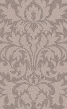 Abigail Damask Rug in Taupe