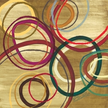 Abstract Circles I Canvas Wall Art