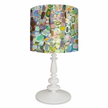 Abstract Forest Table Lamp