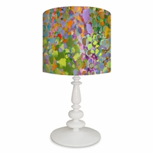 Abstract Wilderness Table Lamp