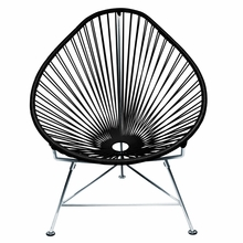 Acapulco Chair - Black Weave