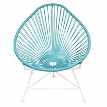 Acapulco Chair - Blue Weave