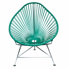 Acapulco Chair - Turquoise Weave