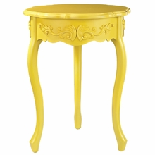 Accent Table In Yellow
