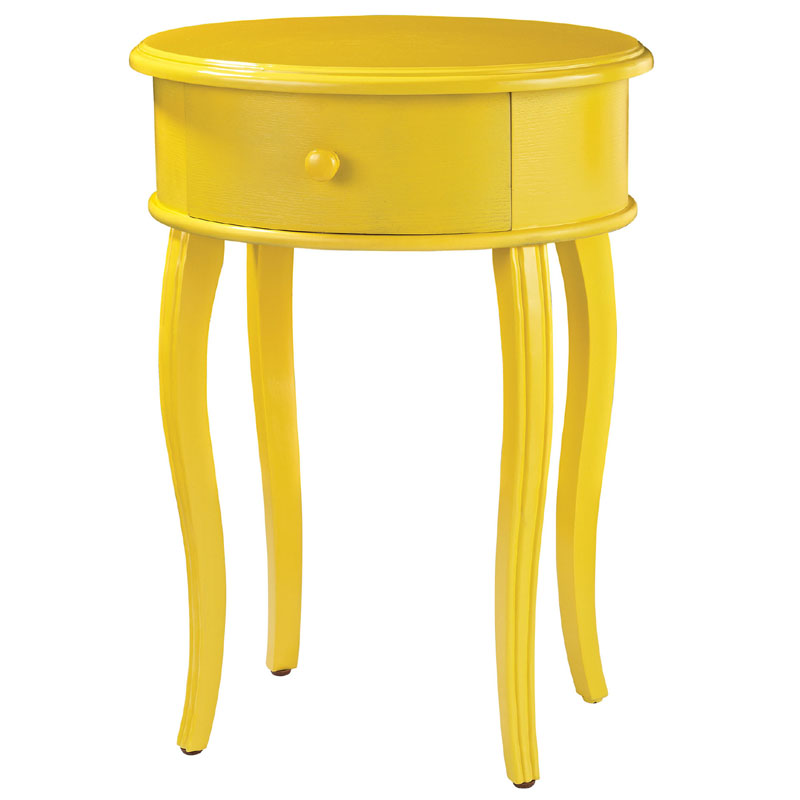 Yellow Accent Table District17 Accent Table In Yellow