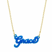 Acrylic Name Necklace - Script