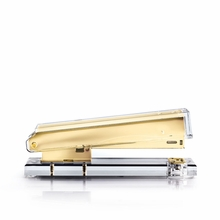 Acrylic Stapler with Gold Accents