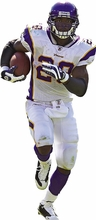 Adrian Peterson Fathead Jr. Wall Decal