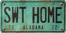 Alabama Custom License Plate Art