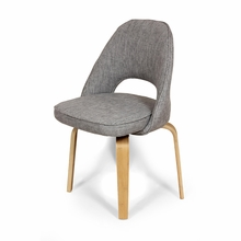 Albin Grey Upholstered Side Chair