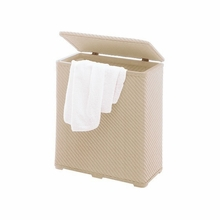 Ambrogio Laundry Hamper in Beige