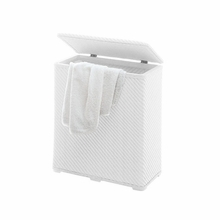 Ambrogio Laundry Hamper in White