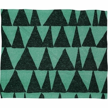 Analogous Shapes 1 Fleece Throw Blanket