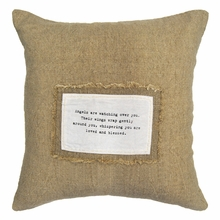 Angles Are Watching Over You Patch Throw Pillow