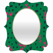 Animal Love Quatrefoil Mirror