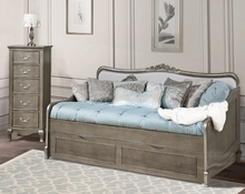 Pewter Eleanor Twin Daybed