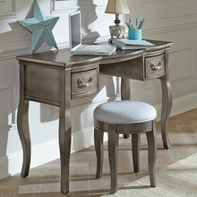 Pewter Kidwell Desk