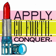 Apply, Go Forth, Conquer Canvas Art