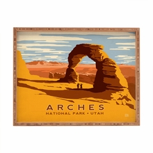 Arches Rectangular Tray
