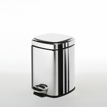 Argenta Waste Basket in Chrome