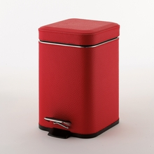 Argenta Waste Basket in Red