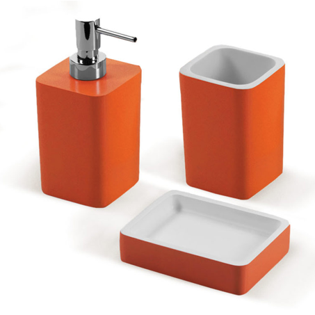 district17 arianna 3 bathroom accessory set in