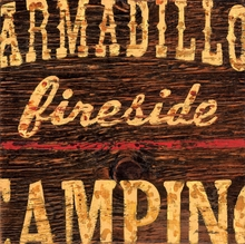 Armadillo Fireside Canvas Wall Art