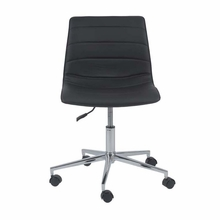 Ashton Office Chair in Black and Chrome