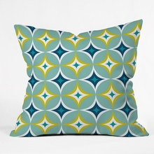 Astral Slingshot Throw Pillow