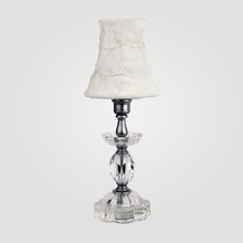 Athens Petite Clear Crystal Table Lamp