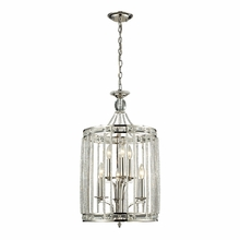 Aubree Pendant In Polished Nickel