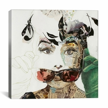Audrey Canvas Wall Art