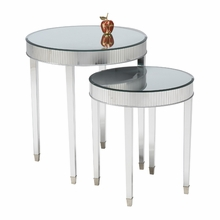 Audrey Round Side Table Set