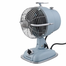 Baby Blue Urbanjet Retro Portable Fan