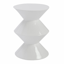 Balta Side Table in White