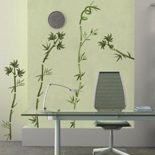 Bamboo Sticks Wall Decals