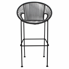 Bar Height Puerto Stool - Black Weave