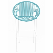 Bar Height Puerto Stool - Blue Weave