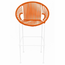 Bar Height Puerto Stool - Orange Weave