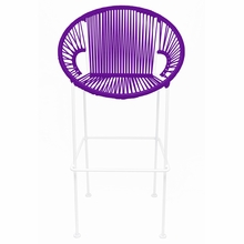 Bar Height Puerto Stool - Purple Weave