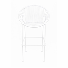 Bar Height Puerto Stool - White Weave