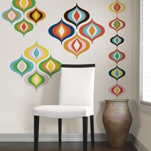 Bargello Wave Peel & Stick Wall Decals