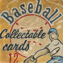 Baseball Cards Canvas Wall Art