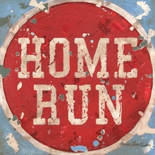 Baseball Home Run Canvas Wall Art