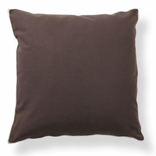 Basic Elements Dark Chocolate Throw Pillow