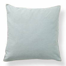 Basic Elements Solid Aqua Throw Pillow