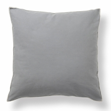 Basic Elements Solid Dark Grey Throw Pillow