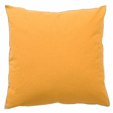 Basic Elements Solid Gold Throw Pillow