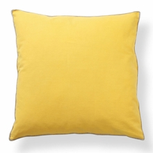 Basic Elements Solid Sun Yellow Throw Pillow