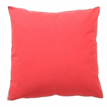 Basic Elements Solid Sunset Throw Pillow